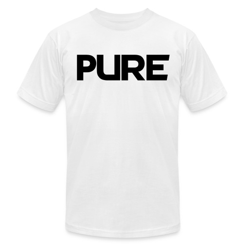 T shirt PureNRG Black (1 of 2) - Men's Fine Jersey T-Shirt