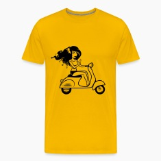 Scooter girl sexy T-Shirts