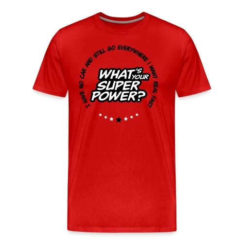 Super in red - Men's Premium T-Shirt