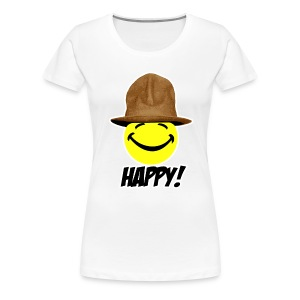 Happy! - Women's Premium T-Shirt