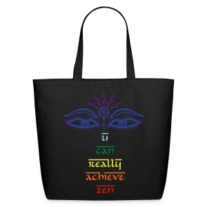 Third Eye Tear Chakra Zen eco bag - Eco-Friendly Cotton Tote