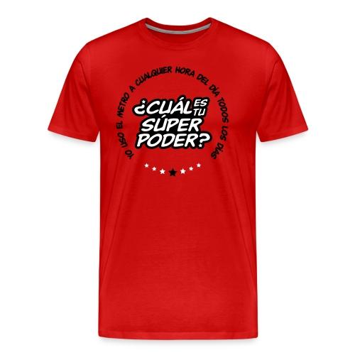 Súper en rojo - Men's Premium T-Shirt