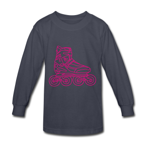 Inline Roller Skates - Kids' Long Sleeve T-Shirt