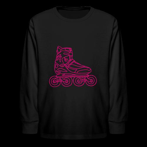 Inline Roller Skates - Kids' Long Sleeve T-Shirt