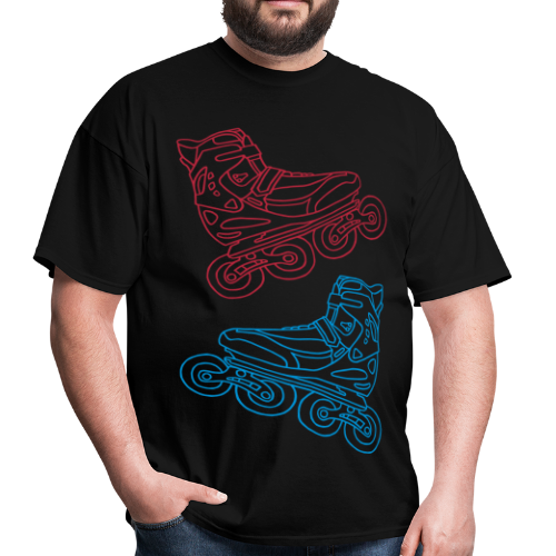 Inline Roller Skates - Men's T-Shirt