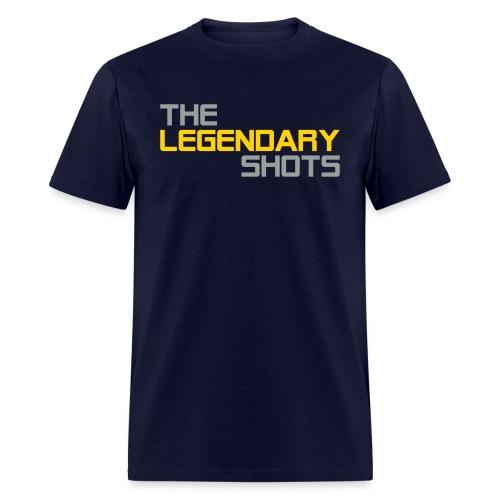 TLS Original w/ Snapchat (Grey & Gold) - Men's T-Shirt