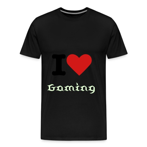 I Heart Gaming Men's Tee - Men's Premium T-Shirt