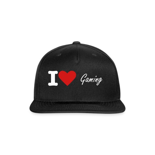 I Heart Gaming Snapback  - Snap-back Baseball Cap