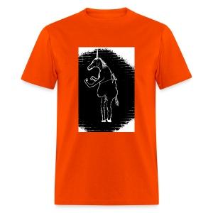 Bright Orange Gildian Style - Men's T-Shirt