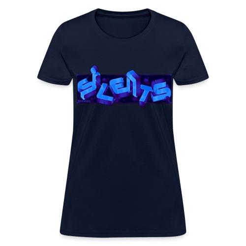 Silents Pixel Logo - Women's T-Shirt