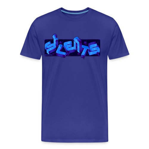 Silents Pixel Logo - Men's Premium T-Shirt