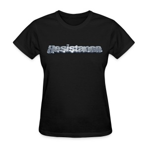 Resistance Pixel Logo - Women's T-Shirt