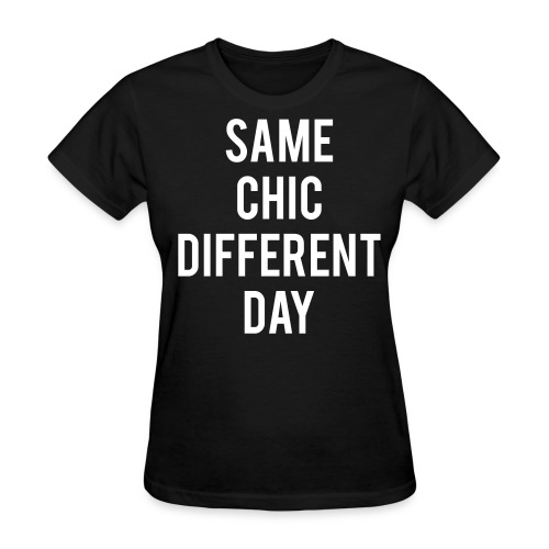 womens SCDD white/black shirt - Women's T-Shirt