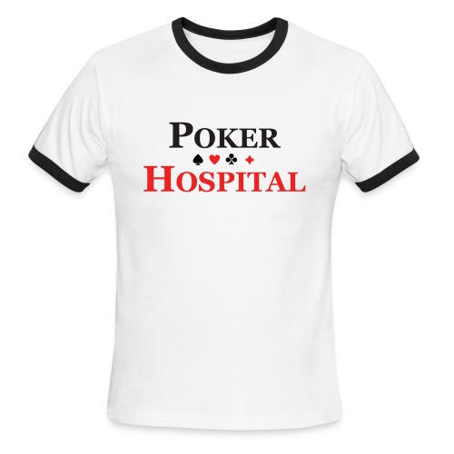 POKER-HOSPITAL Classic Short Sleeve - Men's Ringer T-Shirt