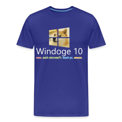 Mens' Windoge 10 Premium T-Shirt - Men's Premium T-Shirt