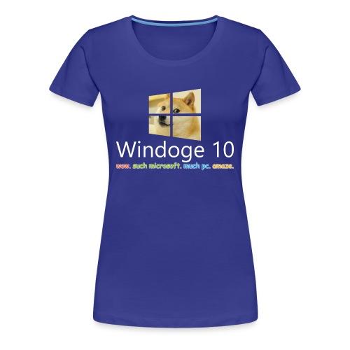 Womens' Windoge 10 Premium T-Shirt - Women's Premium T-Shirt