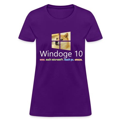 Womens' Windoge 10 T-Shirt - Women's T-Shirt
