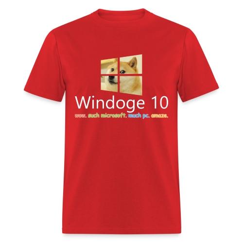 Mens' Windoge 10 T-Shirt - Men's T-Shirt