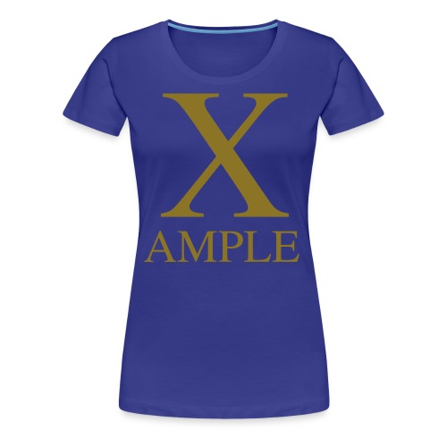 X-Ample - Women's Premium T-Shirt