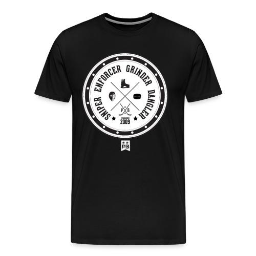 Hockey Roles - Men's Premium T-Shirt