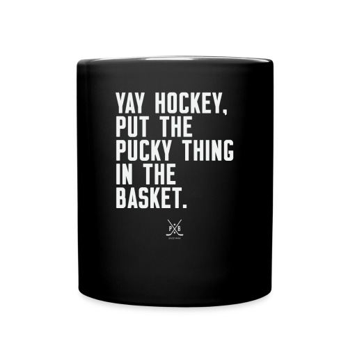 Yay Hockey - Full Color Mug