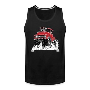 WORKING RODS, 1956 F100 Men's Tank  - Men's Premium Tank