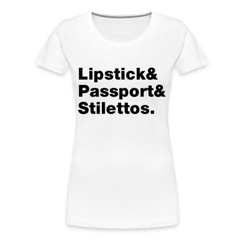 Travel essentials - Women's Premium T-Shirt