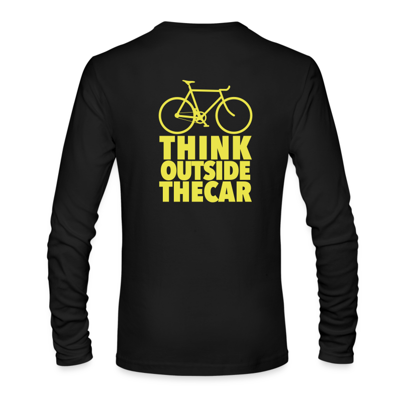 think-02 - Men's Long Sleeve T-Shirt by Next Level