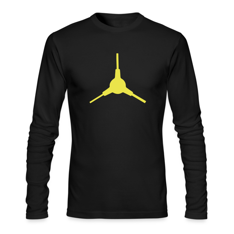 3-way wrench - Men's Long Sleeve T-Shirt by Next Level