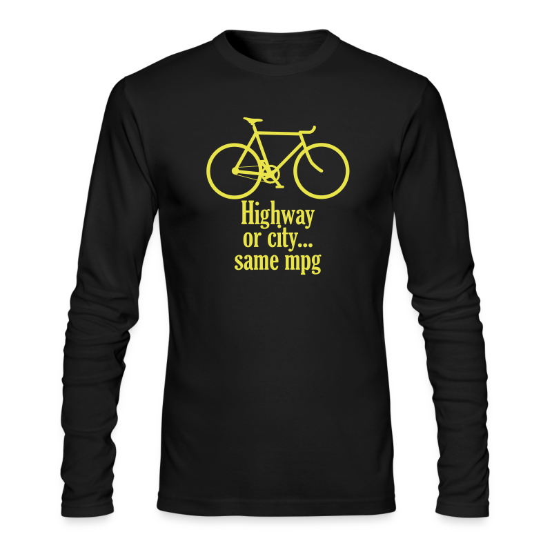 highway or city - Men's Long Sleeve T-Shirt by Next Level