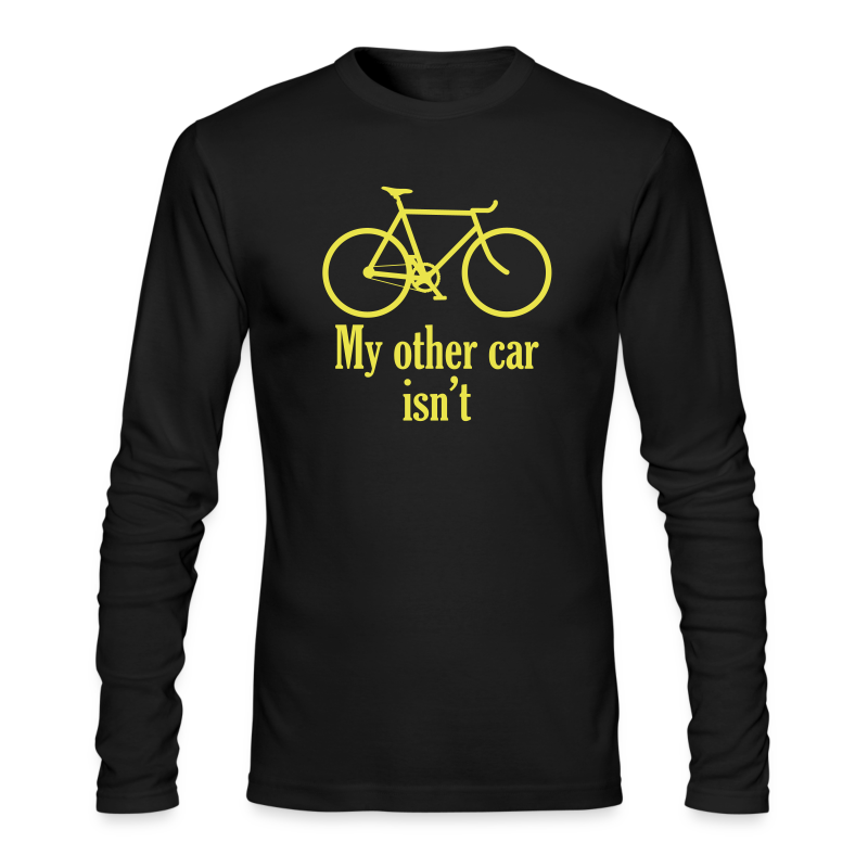 my other car isn't - Men's Long Sleeve T-Shirt by Next Level