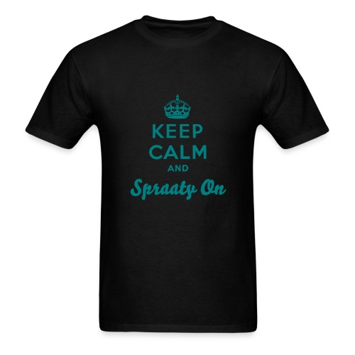 Aqua Spraaty On Tee - Men's T-Shirt
