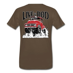 LIVE TO ROD 1956 F100 Gasser T - Men's Premium T-Shirt