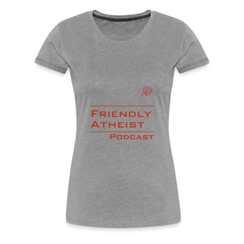 Friendly Atheist Podcast Logo Shirt (Women's) - Women's Premium T-Shirt