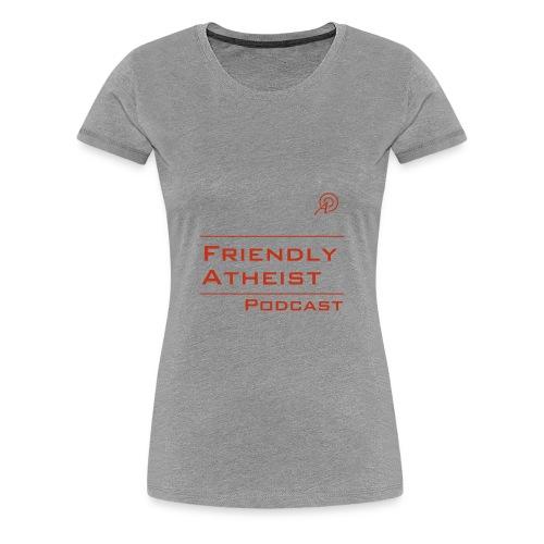 Friendly Atheist Podcast Logo Shirt (Women's) - Women's Premium T-Shirt