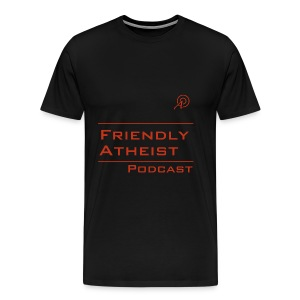 Friendly Atheist Podcast Shirt (Men's) - Men's Premium T-Shirt