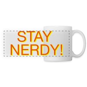 Stay Nerdy Panoramic Mug - Panoramic Mug