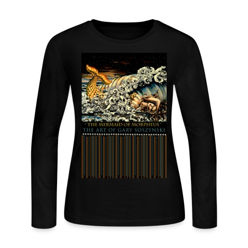 THE MERMAID OF MORPHEUS - Women's Long Sleeve Jersey T-Shirt