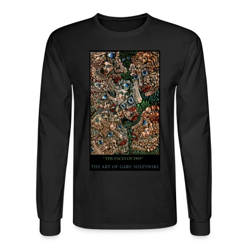 the faces of 1969 long sleeve Tshirt - Men's Long Sleeve T-Shirt