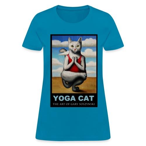 YOGA CAT  womens t-shirt - Women's T-Shirt