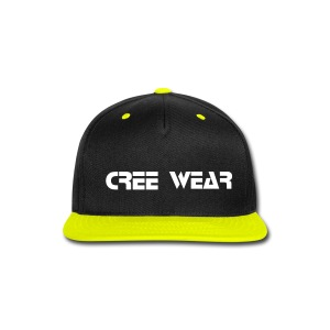 Cree Wear Snap back Cap - Snap-back Baseball Cap