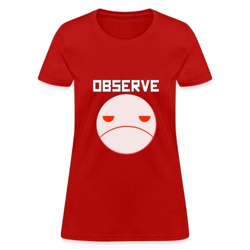 Observe T-Shirt for Women - Women's T-Shirt