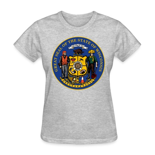NEW WISCONSIN STATE SEAL - Women's T-Shirt