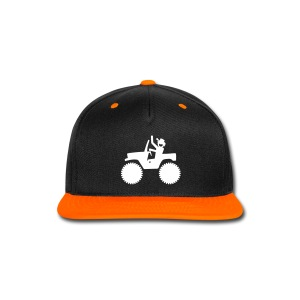 JEEP DUDES Snap-back Cap - Snap-back Baseball Cap