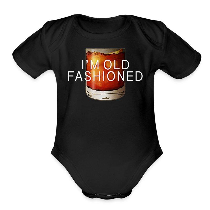 I'M OLD FASHIONED - Short Sleeve Baby Bodysuit