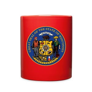 WISCONSIN STATE SEAL - Full Color Mug