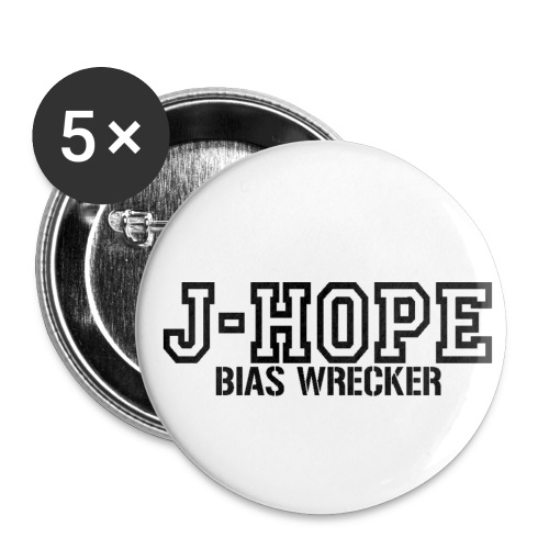 J-Hope Bias Wrecker Buttons - Small Buttons