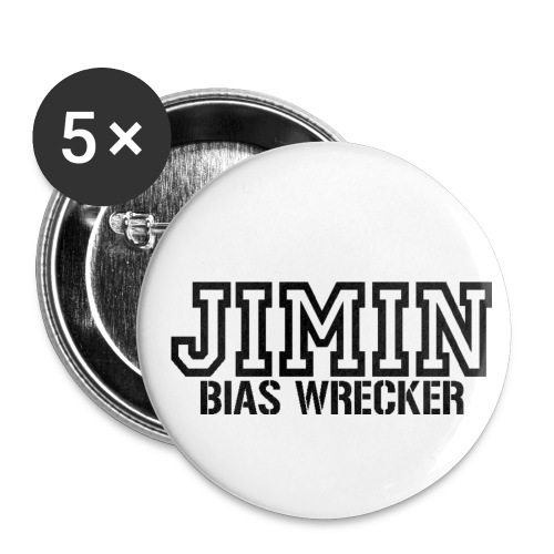 Jimin Bias Wrecker Buttons - Small Buttons