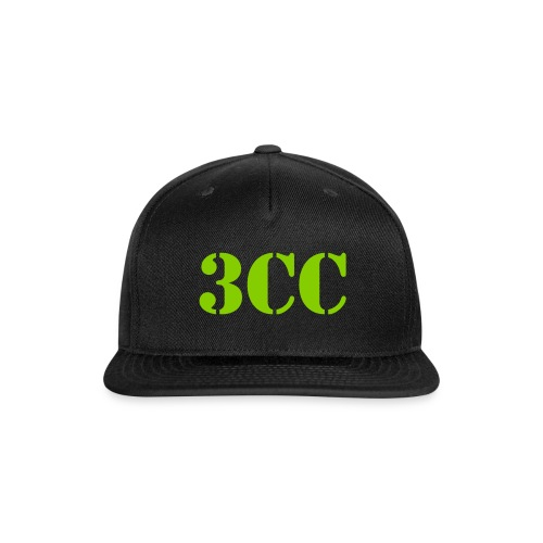 3CC Fitted Hat - Snap-back Baseball Cap