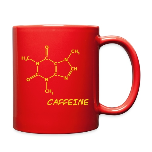Caffeine Molecule - Full Color Mug